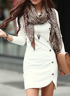 Beautiful Business Casual Attire for the Ladies Mode Outfits, Casual Outfits, Dress Casual, Party Outfits, Casual Clothes, Classy Dress, Casual Dresses For Women, Summer Outfits, Dress Silhouette