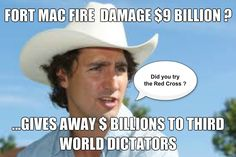 Trudeau gave away your money #canpoli