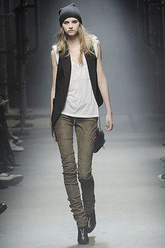 Alexander Wang Fall 2008 Ready-to-Wear Fashion Show - Anabela Belikova