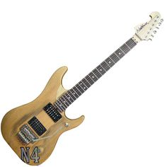 Washburn N4 superstrat-styled Nuno Bettencourt signature guitar. Looks a bit basic but that was always the point.