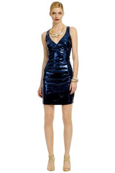 Shooting Star Dress  By Nicole Miller  Retail $420, Rent for $85