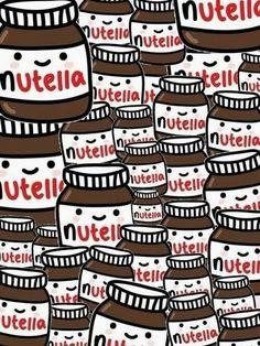 Fond écran Nutella
