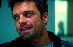 Sebastian Stan, Marvel Actors, Marvel Avengers, Bucky Barnes Aesthetic, Steel Blue Eyes, James Barnes, Winter Soldier Bucky, Man Thing Marvel, Marvel Cinematic