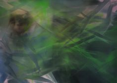 Marvin Aillaud - Silhouettes fragmentées #11 - 2015 - Huile sur toile - 65 x 92 cm #lamicrogalerie #marvinaillaud #peinture #huilesurtoile #artcontemporain