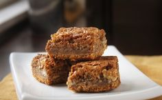 Graham Cracker Chewy Bars Ingredients: Crust  3 cups graham cracker crumbs  3/4 cup (1 1/2 sticks) butter, at room temperature  1/4 cup suga...