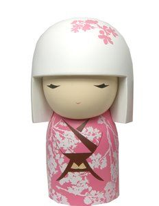 """Kimmidoll™ Ayame - """"Gratitude"""" - """"My spirit brings prosperity, happiness and fulfilment. You release my power by nurturing within yourself a spirit of appreciation. By valuing yourself, others and everything you have, you can enjoy a full and rewarding life."""""""