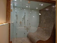 Love seating in shower  Bathroom Renovation Trends