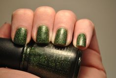 China Glaze 'Winter Holly' Holiday Joy collection 2012