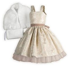 Golden Jewel Girl's Special Occasion Dress