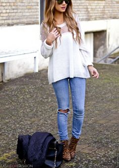Love shirt and jeans
