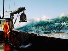 Corey Arnold's candid photos document the extraordinary life of fishermen out at sea.
