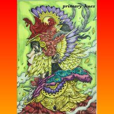FAMILY. CB: Eirene by NickFilbert Medium: Prismacolorpremier