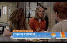 Did you see Maria Shriver's interview with Piper Kerman, the author behind Orange is the New Black?
