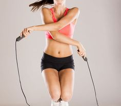 Jump rope is the ultimate high-intensity cardio workout that blasts calories, and helps you tone up and get fit. Choose from 5 different jump rope workouts High Intensity Cardio Workouts, Fun Workouts, At Home Workouts, Daily Workouts, Body Workouts, Workout Routines, Fitness Workouts, Jump Rope Workout, Workout Warm Up