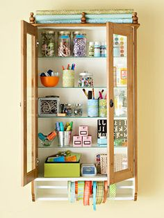 Cute and Clever Ways to Store your small craft supplies