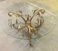 Drop Leaf Table, Hollywood Regency, Unique Jewelry, Ceiling Lights, Handmade Gifts, Coffee, Awesome, House, Etsy