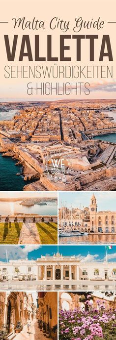 Valletta City Guide für 2 bis 3 Tage: Mit den 16 besten Valletta Sehenswürdigk… Valletta City Guide for 2 to 3 days: With the 16 best Valletta sights, travel tips, highlights, insider tips and must-sees that you absolutely should have… Continue reading → Europe Destinations, Holiday Destinations, Best Places To Travel, Best Cities, Places To Go, Koh Lanta Thailand, Travel Around The World, Around The Worlds, Voyager Seul