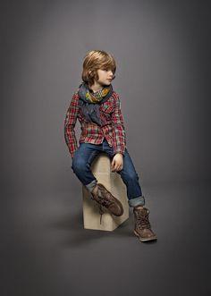 Look niño invierno 2014: Moda IKKS