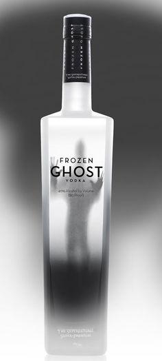 Frozen Ghost Vodka - plus other really cool vodka bottles