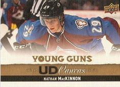 Canadian Hockey Cards: Rookies, Upper Deck and Young Guns for sale. Hockey Cards, Baseball Cards, Young Guns, Colorado Avalanche, Upper Deck, Nhl, Cards, Young Life Camp