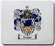 Aungier Family Shield / Coat of Arms Mouse Pad $11.99