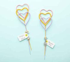 Hand out heart-shaped sparklers for your ceremony exit.