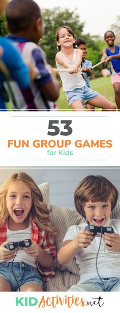 A collection of fun group games for kids. Great for the classroom, recess, or PE class. game, 53 Fun Group Games and Activities for Kids Team Games For Kids, Kids Group Activities, Games For Kids Classroom, Games For Toddlers, Games For Teens, Kids Party Games, Fun Games, Children Activities, Outdoor Classroom