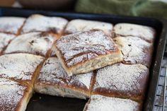 Supergott bröd i långpanna som jäser över natten!