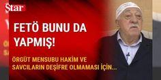 FETÖ'den 'namaz kılmayın, cumaya gitmeyin' talimatı: İzmir'de, Fetullahçı Terör Örgütü/Paralel Devlet Yapılanmasına (FETÖ/PDY) yönelik soruşturma kapsamında tutuklu bulunan eski Ödemiş Cumhuriyet Savcısı Hasan Bilici ile adli kontrol şartıyla serbest bırakılan eşi eski Ödemiş Hakimi Neslihan Bilici hakkında hazırlanan iddianamede, aynı adliyede görev yapan örgüt üyesi hakim ve savcıların birbirlerini bilmeyeceği, bilseler bile bu yapıdan olup olmadıklarını sorma konusunda yasakların olduğuna…