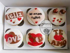 Cupcakes de aniversario