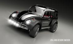 #beetle #vw #beetle xc design #zolland design