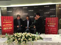 Pak Jeremy, Mr Li, Pak Budi and Mr Winson at Press Conference