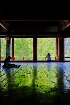 Important Cultural Property of Japan, Senjo-kaku of Itsukushima shrine.