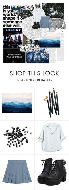 """v ‹‹ botts round 3.1"" by coffee-stained-kisses ❤ liked on Polyvore featuring WALL, Bobbi Brown Cosmetics, INC International Concepts, Drakes London, ...Lost, battlesetsbyvi and botts3"