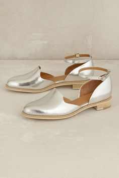 Madelyn Ankle-Strap Flats  By All Black  Leather; leather insole, manmade sole  Imported  Style No. 7314289469043