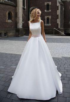 Minimalismo: Vestidos de Noiva Simples | Blog Reisman Alianças