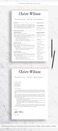 Nurse Resume Template - Nurse Staff - Top Resume Templates - CV - top resume templates