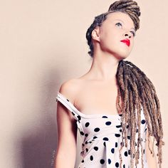 Stunning Dreadlocked up-do