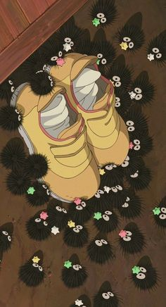 The Soot Sprites in the films Spirited Away
