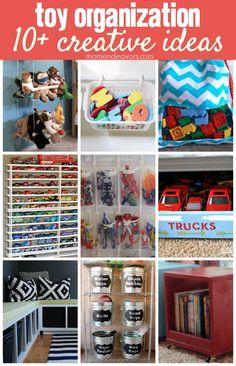 10+ Creative Toy Organization Ideas