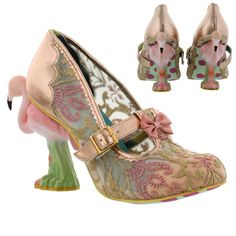 Irregular Choice Flamenco Flamingo Heels Womens Shoes in Clothes, Shoes & Accessories. I HAVE to have these!!