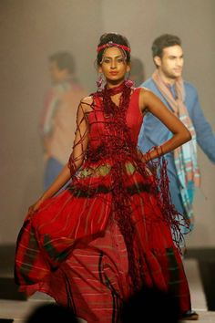 Designer Bibi Russell's Collection at Colombo Fashion Week 2013 ~ Wrapped Dreams