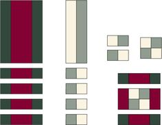 Sew an On-Point Quilt for Baby with the Dawn's Light Pattern: Make Framed Four Patch Blocks with Rosy Maroon Outer Bars