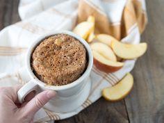 Cinnamon-Apple 2-Minute Mug Cake