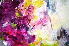 Größe: 70 cm x 100 cm (27.56 inch x 39.37 inch), die Leinwand ist 2 cm (0,79 Zoll) dick. Die Oberfläche wurde glänzend gefirnisst, um das Gemälde vor UV-Licht, Feuchtigkeit und Staub zu schützen. Die Heftklammern sind auf der Rückseite und die Kanten sind in den passenden Farben bemalt.