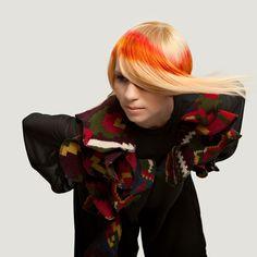 #fason #blondehair #avangard #color