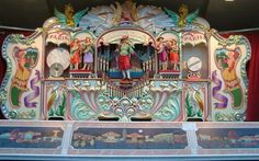 Circus Organ | Vintage Marenghi Fairground Organ | Calliope | Pinterest