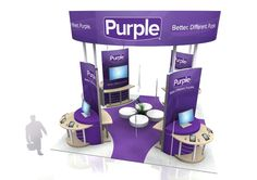 Purple_B   Tradeshow Booth
