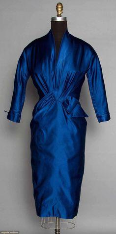 Ceil Chapman Cocktail Dress, 1953-1954, Augusta Auctions, April 9, 2014 - NYC, Lot 110