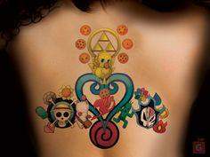 bleach tattoos - Pesquisa Google